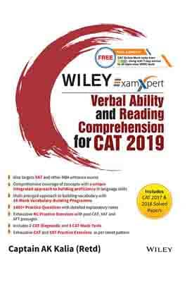 Wiley's ExamXpert Verbal Ability and Reading…